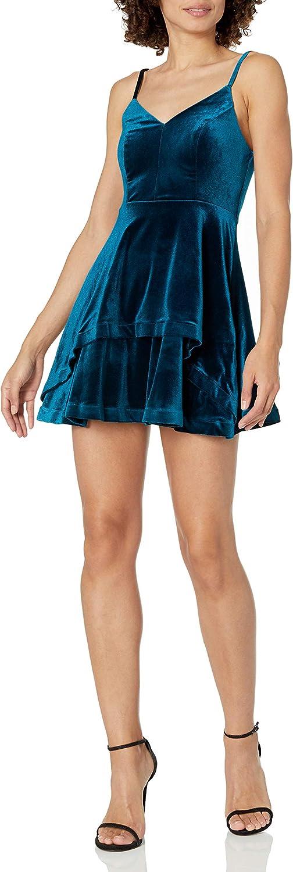 Speechless Women's Sleeveless Skater Dress