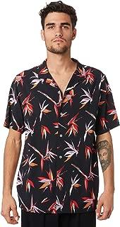 Huffer Men's Paradise Mens Ss Shirt Short Sleeve Black