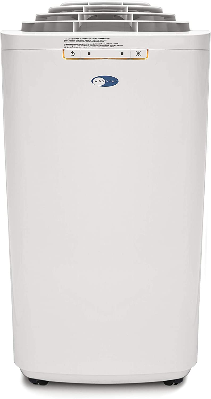 Whynter ECO-Friendly wholesale Houston Mall 11000 11 000 BTU Air Hose Portable Dual Con