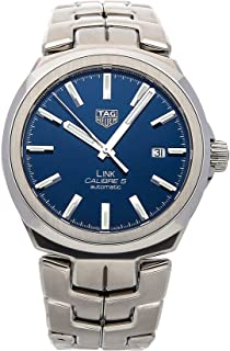Tag Heuer Link Automatic Blue Dial Mens Watch WBC2112.BA0603