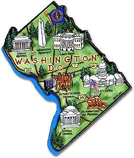 Washington D.C. the United States Capitol Artwood Jumbo Fridge Magnet