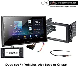 $649 » Pioneer DMH-W4660NEX Digital Multimedia Receiver + Install Kit Compatible with 2007-2013 Silverado, Avalanche + Sound of Tri-State Lanyard Bundle