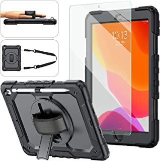 Ntech iPad 8th/7th Generation Case, iPad 10.2 Case 2020/2019, [Kid Proof] ambison Full Body Protective Case with 9H Temper...
