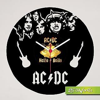 gravinci.de Tocadiscos Reloj AC/DC