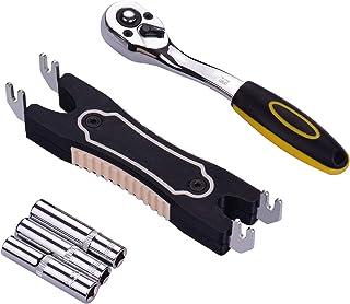 غلاف سداسي 7/8/9 مم جديد + مفتاح + أداة إزالة فوهة باستر ثنائية الاستخدام مع إكسسوار طابعة ثلاثية الأبعاد