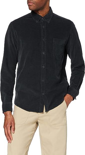 Marca Amazon - find. Camisa Casual de Pana Hombre