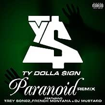 Paranoid (feat. Trey Songz, French Montana and DJ Mustard) [Remix] [Explicit]