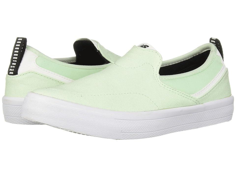 New Balance Numeric AM101 (Mint/White Canvas) Men's Skate Shoes, Green