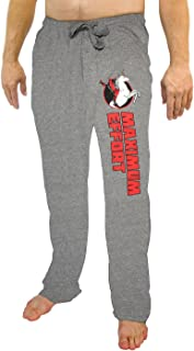 Marvel Comics Deadpool Riding A Unicorn Gray Sleep Lounge Pants