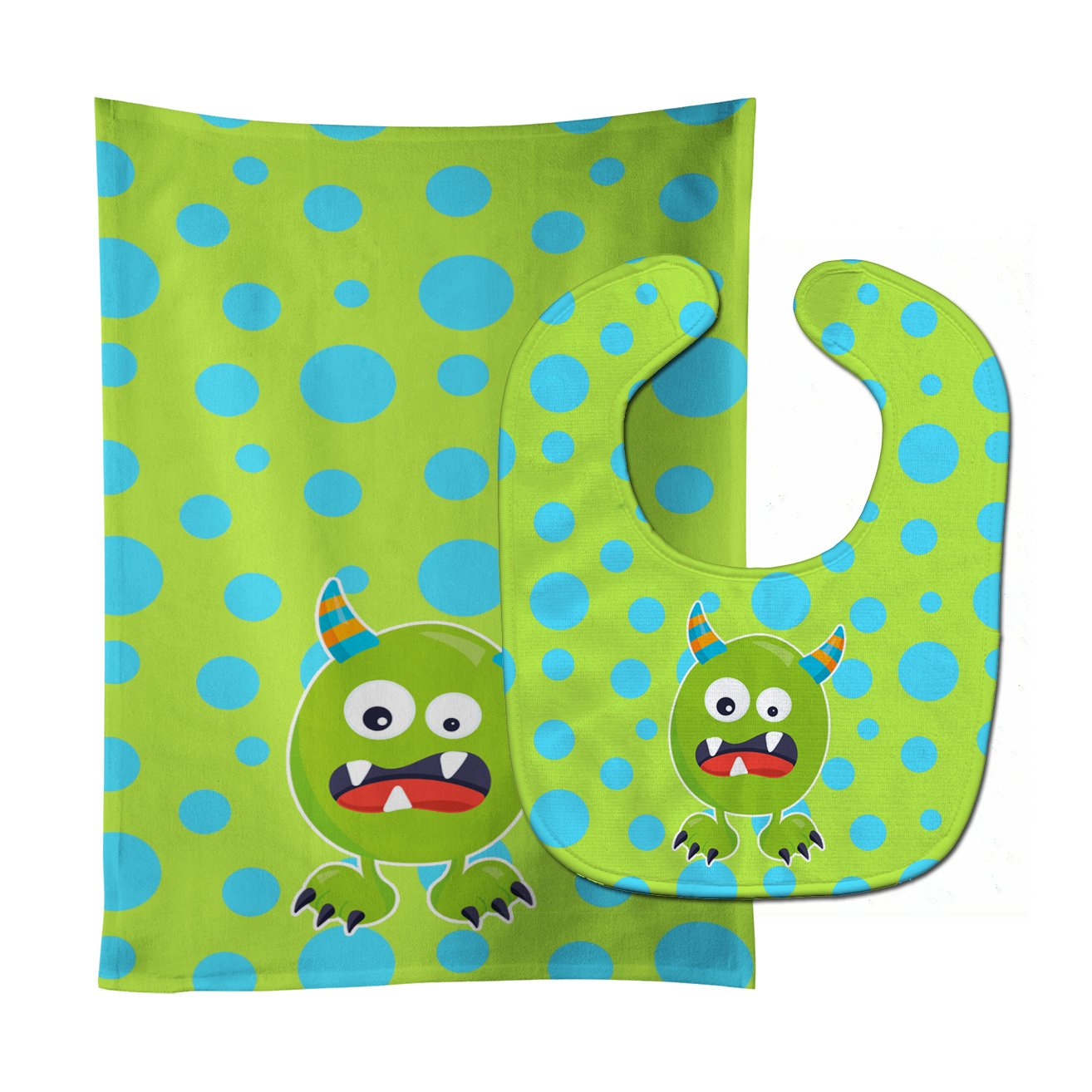 Popular Caroline's Treasures BB7003STBU Little Monster Greenie Cheap super special price Ba Doodle