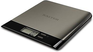Balance de Cuisine numérique Salter Pro - Pesage électronique des aliments, design compact, Écran LCD, Ajout et pesage, St...