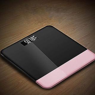 Báscula de grasa corporal Balanza de baño Balanza de grasa corporal electrónica LCD digital Báscula electrónica de peso Báscula electrónica inteligente para el hogar báscula accesorios rosa