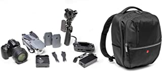 Manfrotto Advanced Versatile;Compact;Lightweight Manfrotto Advanced Camera DJI Mavic DJI OSMO+ Backpack Gearpack M, Black ...