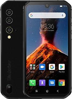 Blackview BV9900 Proサーマルカメラ携帯電話Helio P90オクタコア8GB + 128GB IP68頑丈なスマートフォン48MPクワッドリアカメラ (銀色)