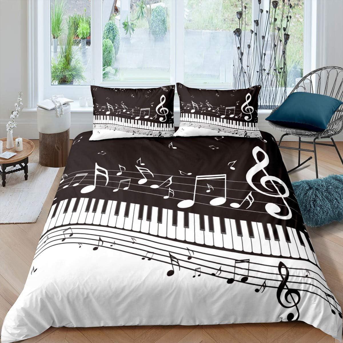 Erosebridal 2021 autumn and winter new Award Piano Comforter Cover Rotating Musical Duvet Notes C