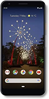 "Google Pixel 3A XL (64GB, 4GB) 6.0"" Display GSM/CDMA Unlocked (AT&T/T-Mobile/Verizon/Sprint) 4G LTE International Model (Clearly White)"