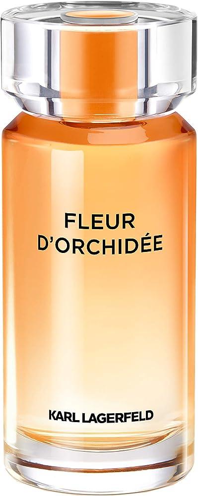 Karl lagerfeld fleur d`orchidea eau de parfume,profumo per donna, spray , 100 ml KL008A05