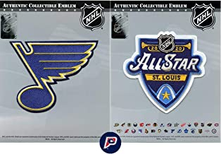 St Louis Blues 2020 NHL All Star & Primary Team Logo Jersey Patch Combo