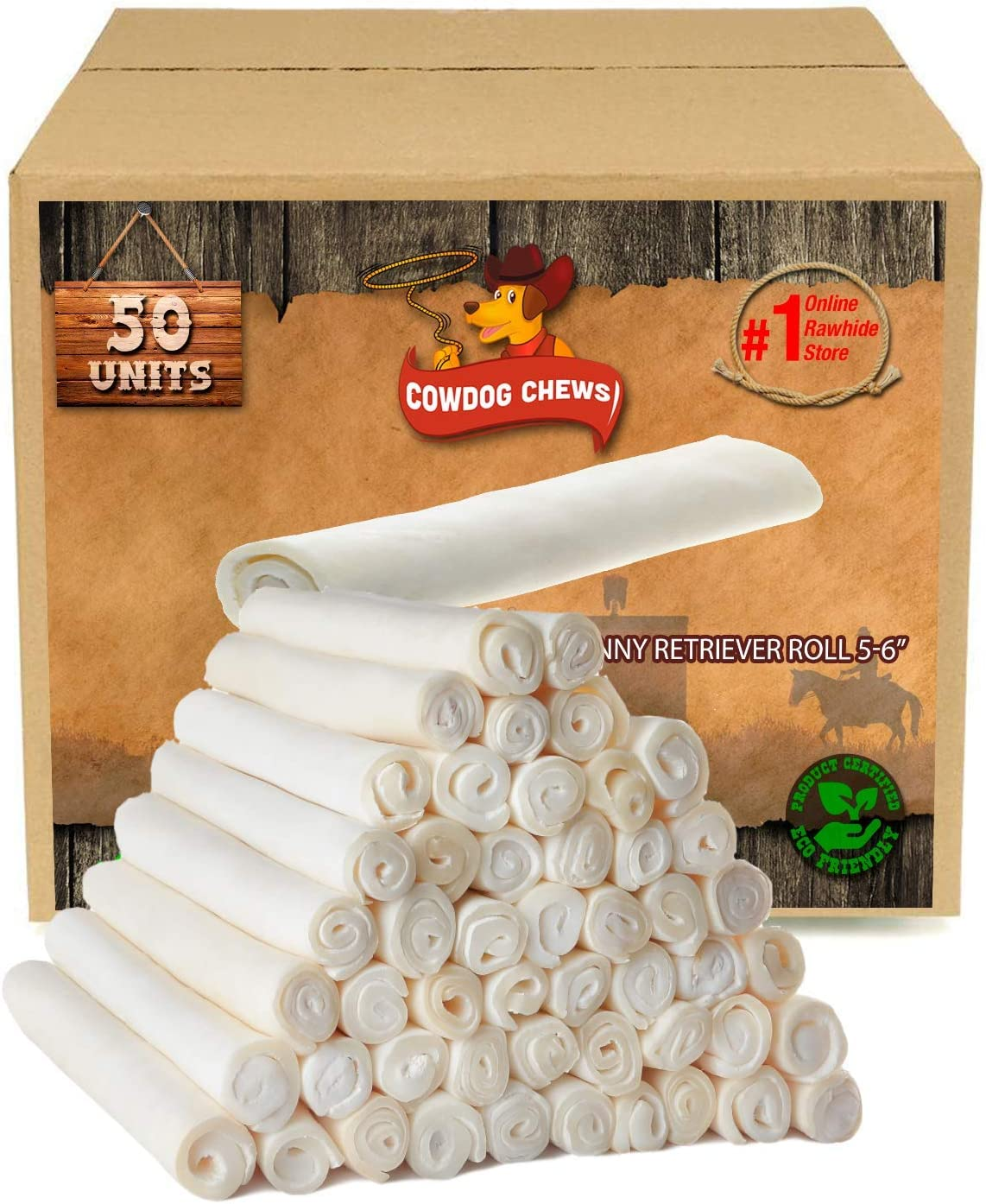 Cowdog Chews 5-6 Inches Retriever Japan's largest assortment Roll Dog 100 - Chewing Treat Manufacturer direct delivery