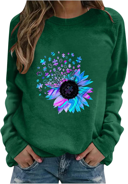 felwors Teen Girls Hoodies, Women Girls Casual Loose Sweatshirts Cute Printed Long Sleeve Pullover Tops Sweaters