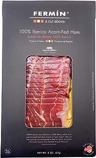 Iberico de Bellota Ham Sliced by Hand (2 oz). GLUTEN FREE