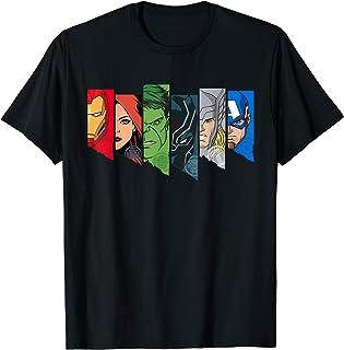 Marvel Avengers Character Line-Up T-Shirt
