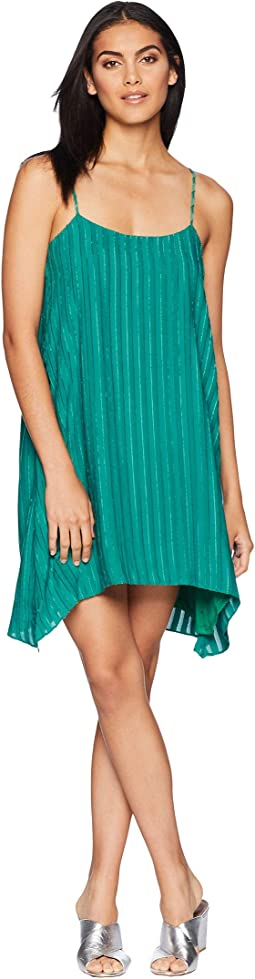 Low Back Pleated Dress