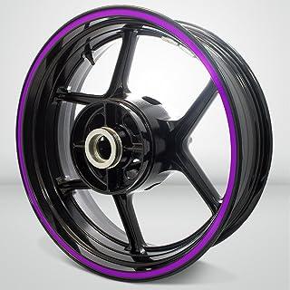 Thick Outer Rim Liner Stripe for Kawasaki Ninja 300 Matte Purple