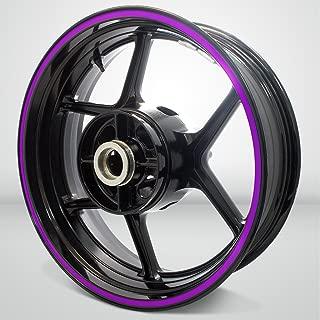Thick Outer Rim Liner Stripe for Suzuki GSXR 750 Matte Purple
