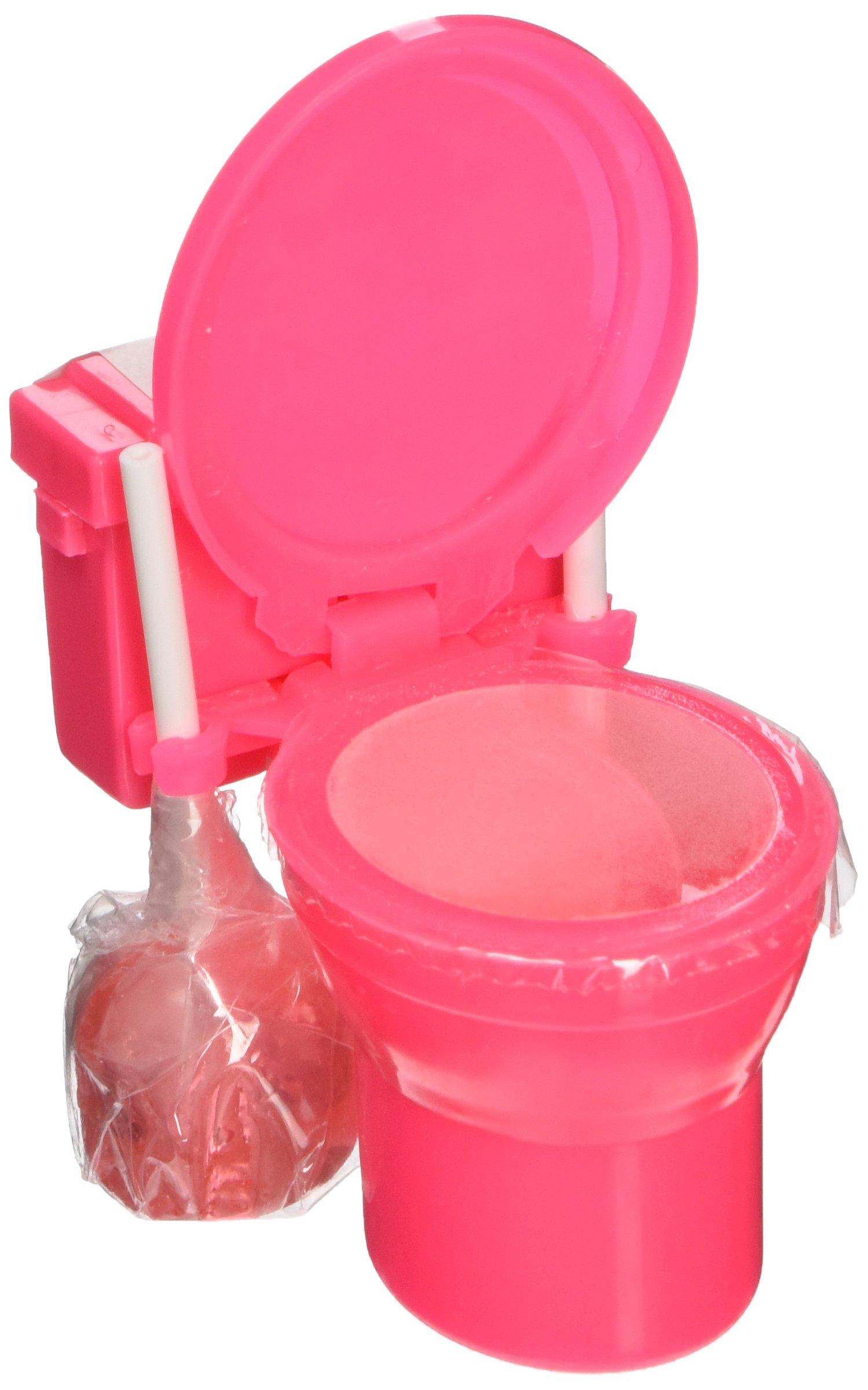 Sour Flush Candy Plungers and Powder Toilet Dip-Random Colors - 1 Unit