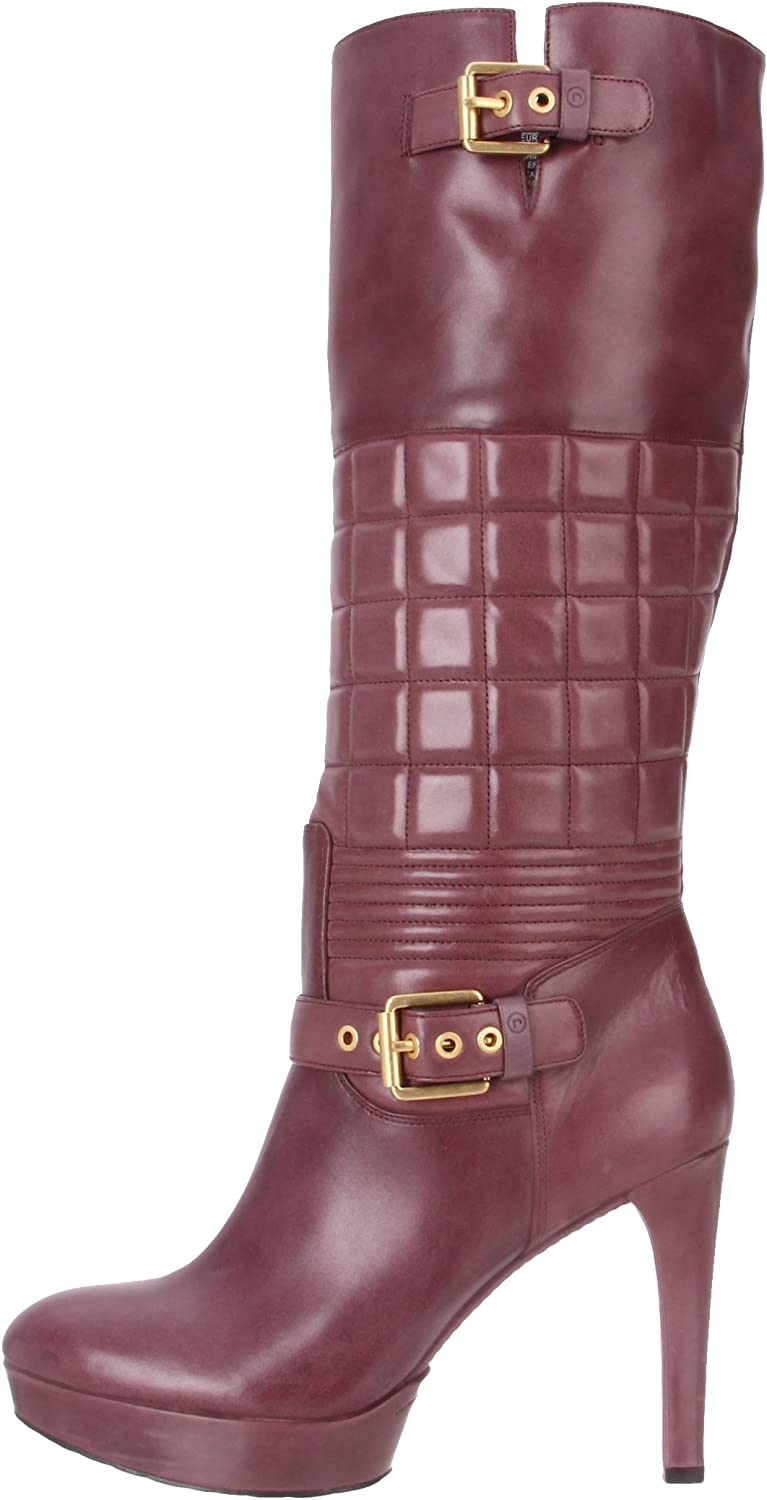 Rockport Women's Janae Quilted Tall Boot Red