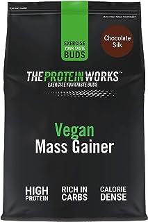 THE PROTEIN WORKS Vegan Mass Gainer | 100% a Base de Plantas | Alto en Calorías Para el Aumento ...