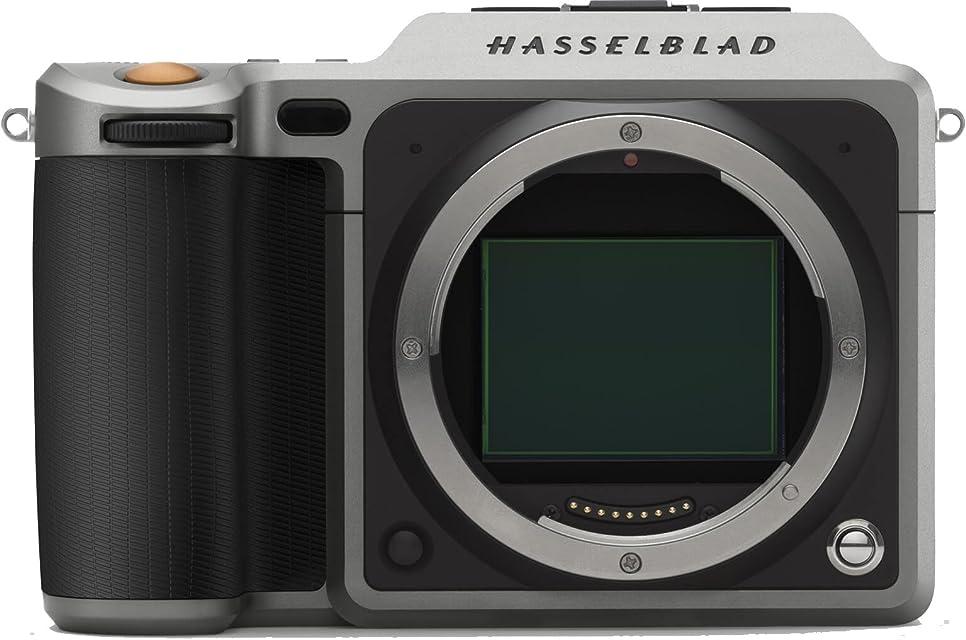 Hasselblad X1D - Cámara Digital sin Espejo (CMOS 50 megapíxeles Ranuras Dobles para Tarjetas SD obturación de 60 Minutos a 1/2000 de Segundo)