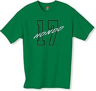 Wally's Custom Apparel Havlicek 17 T Shirt Kelly Green Small - 2XL