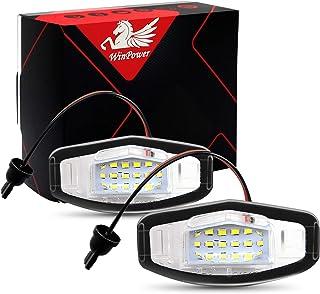 WinPower LED Luces de matrícula para coche Lámpara Numero plato luces Bulbos 3582 SMD con CanBus
