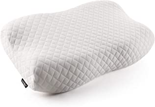 HOKEKI Ergonomic Cervical Support Pillow,Contour Memory Foam Bed Pillows for Neck Pain Relief,for Side Sleepers,Back and S...