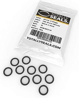 Noir Anneaux toriques en caoutchouc nitrile 34 mm x 3 mm duret/é de rivage 70 A 40 mm OD 1