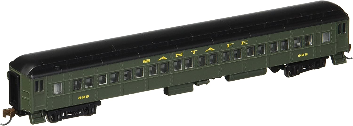 Bachmann Industries Detroit Max 78% OFF Mall Heavyweight Coach with Interior Sa - Lighted