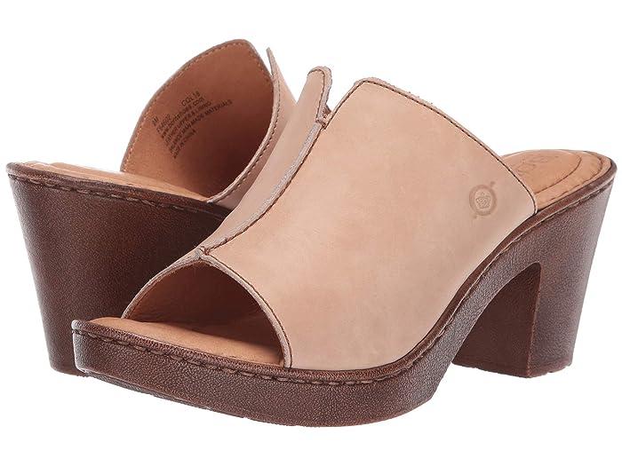 Born  Wenaha (Natural Full Grain Leather) Womens Sandals