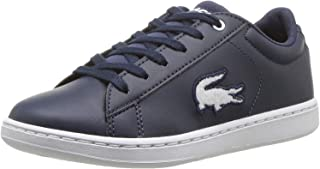 f597699fe5 Lacoste Carnaby Evo 418 3 Marine/Blanc Synthétique Jeunesse Chaussures De  Sport Chaussures