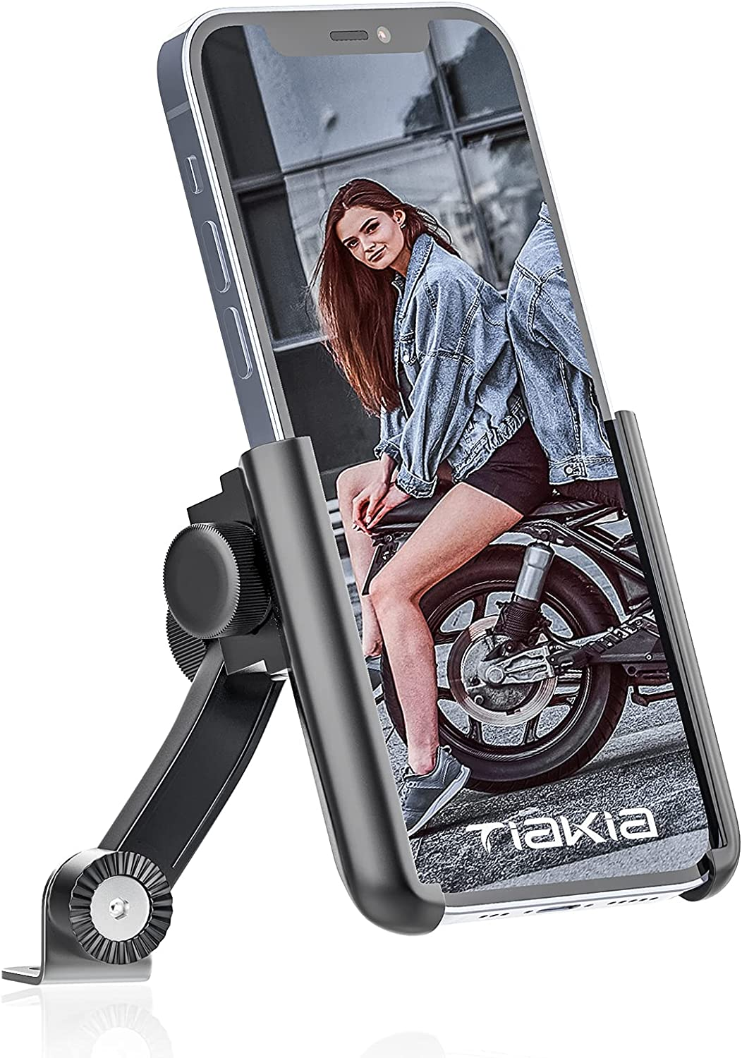 Tiakia Motorcycle Phone Mount Releaseà Free NEW before selling ☆ shipping New Holder【2021 Quick 1S