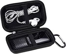 MP3 Player Case KINGTOP Durable Hard Shell Travel Carrying Case for MP3 MP4 Players,iPod..