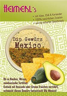 HEIMERLs Gewürzdip Mexico mit Käse, Koriander und Chili Le