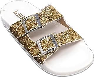 LK 9910 Elga Slides Sandals in Gold