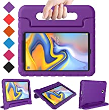 BMOUO Kids Case for Samsung Galaxy Tab A 8.0 2018 SM-T387, Shockproof Light Weight Protective Handle Stand Kids Case for Galaxy Tab A 8.0 Inch 2018 Release SM-T387 - Purple
