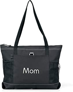 monogrammed utility tote