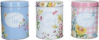 علبة تخزين الشاي والقهوة والسكر من Creative Tops Katie Alice English Garden