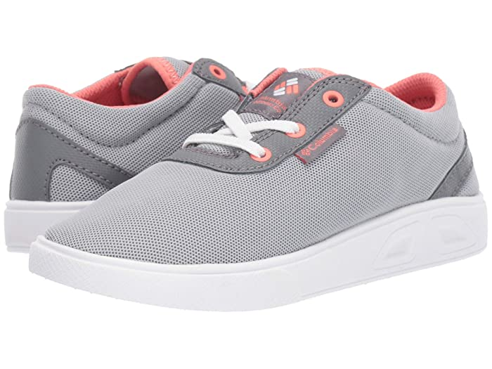 Columbia Kids  Spinnertm (Little Kid/Big Kid) (Earl Grey/Hot Coral) Girls Shoes