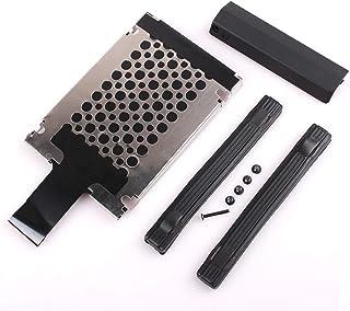 Hard Drive Caddy Cover + Caddy Tray Bracket +9mm Rails with Screws for IBM Lenovo Thinkpad T420 T420i 04W1637