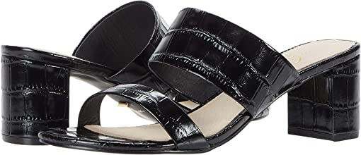 Black Patent Croco